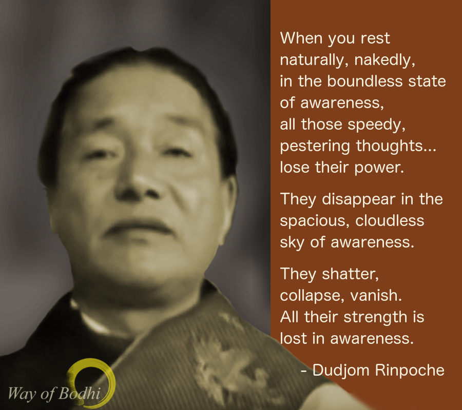 Kyabje Dudjom Rinpoche on Meditation