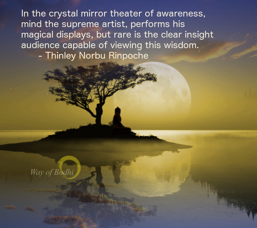 Thinley Norbu Rinpoche on the play of awareness