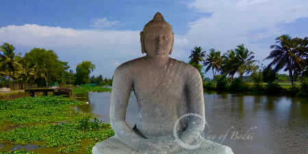 Ancient Buddha statues of Kerala. Buddhism in kerala