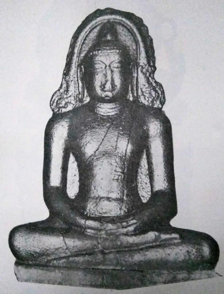 Ancient Buddha Statue, Pondicherry