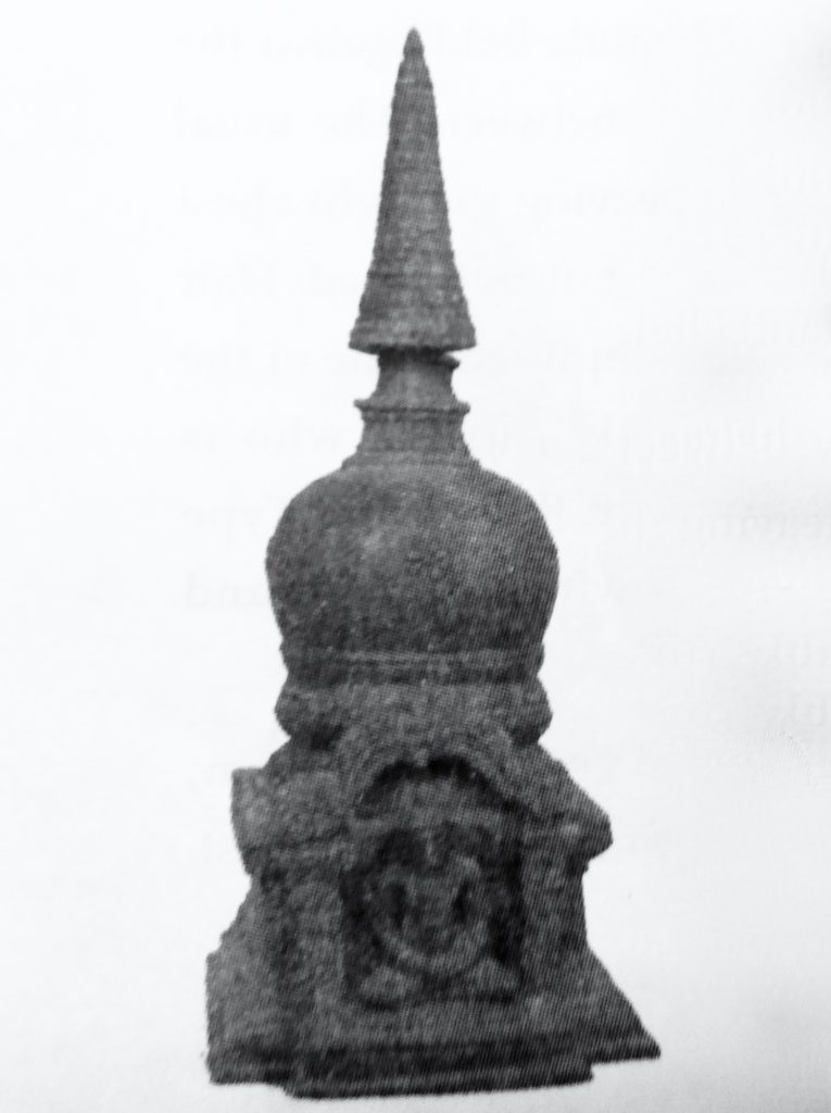 Ancient Buddhist Stupa from Nagapatttinam, Tamil Nadu.