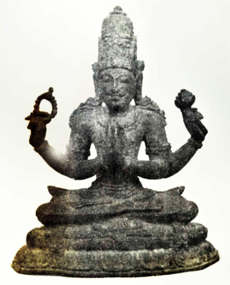 Ancient statue of Shadakshari Lokesvara from Nagapatttinam, Tamil Nadu.