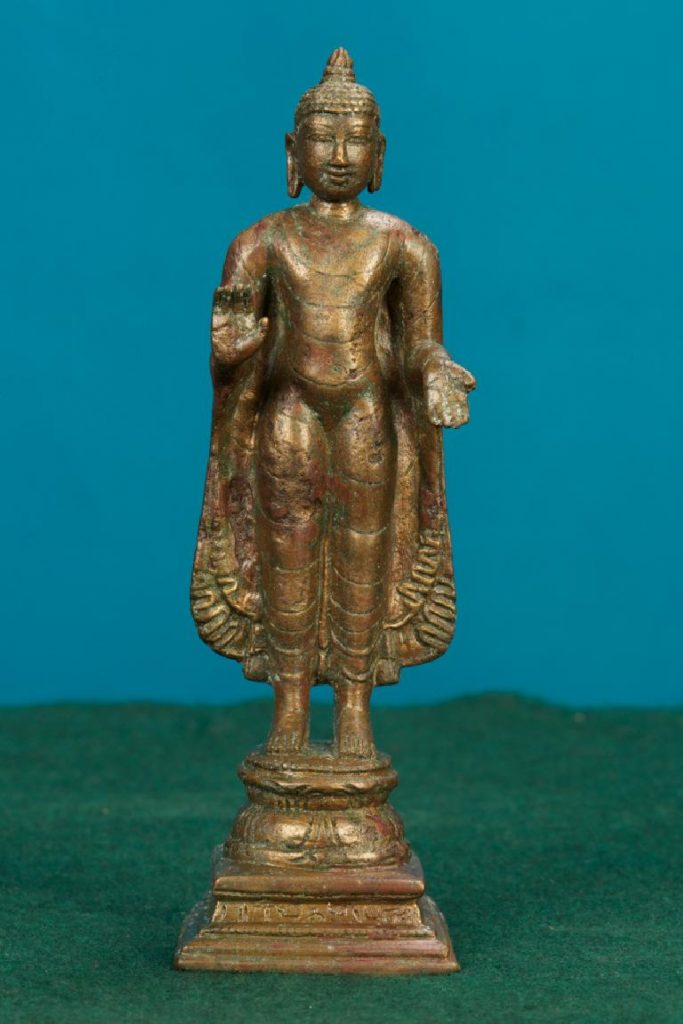Nagapattinam Buddha statue currently at Napier Museum, Thiruvananthapuram