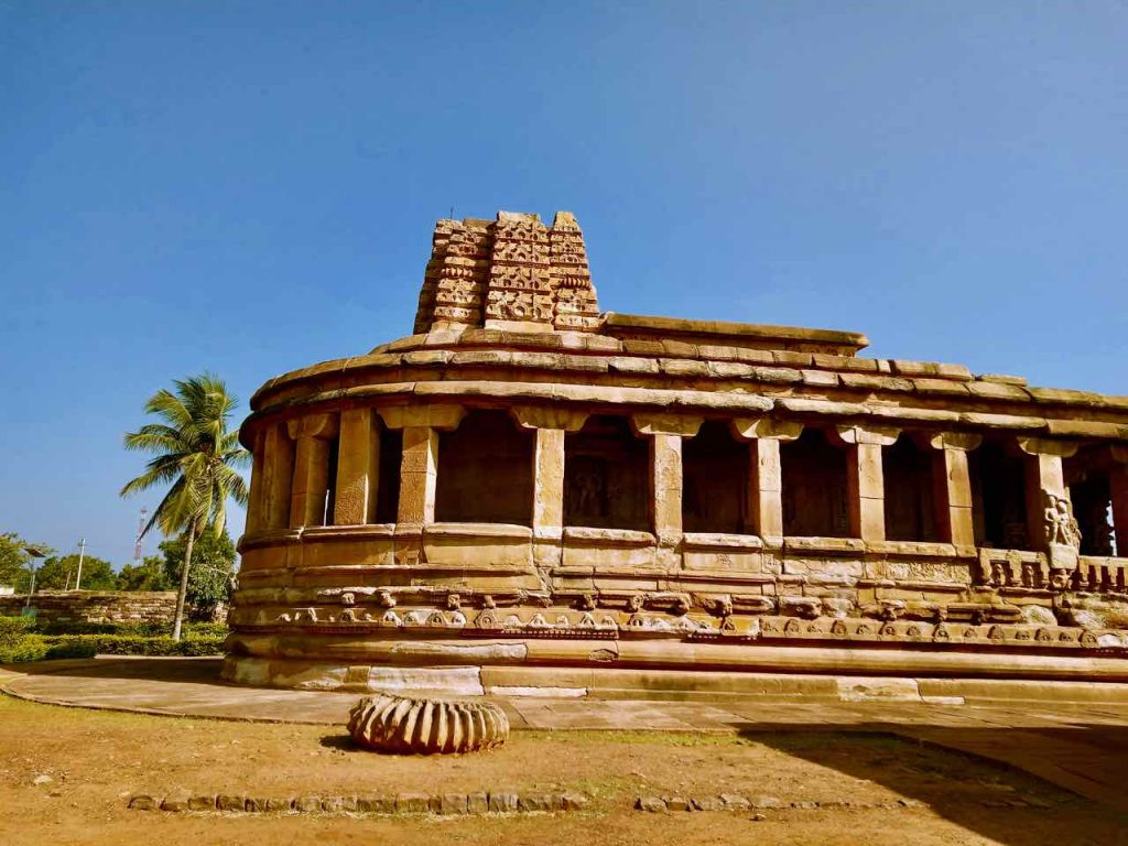 Durga Temple / Surya Temple, Aihole, with an apsidal structure.