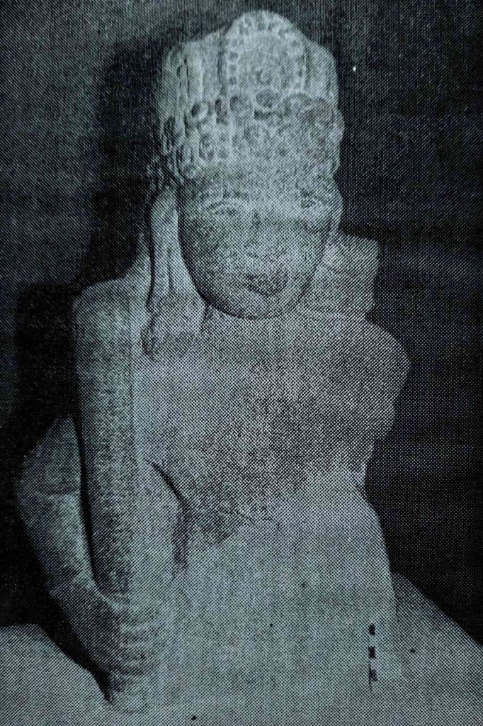 Buddhist remains in Banavasi