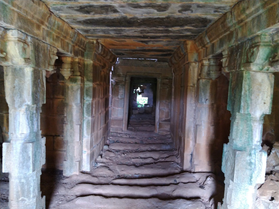 Buddhism in Kallakurichi -  Interior of the dilapidated Temple near the ancient Buddha statue of Ulagiyanallur, Kallakurichi.